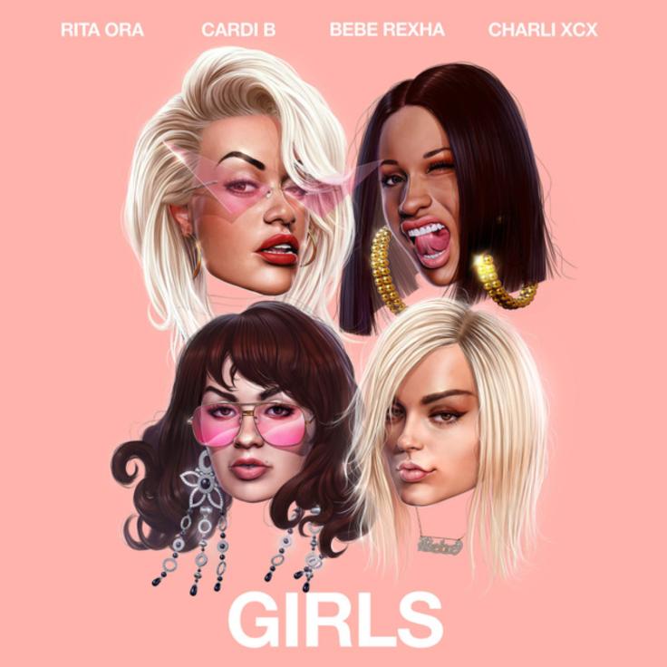 Girls Rita Ora Cardi B Bebe Rexha Charli XCX